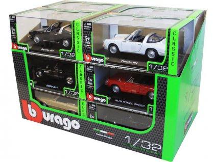 Bburago sada modelů aut Classic 1:32 12ks