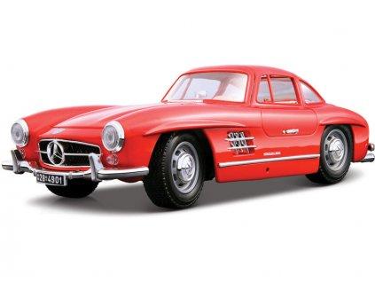 Bburago Mercedes-Benz 300 SL 1954 1:18 červená