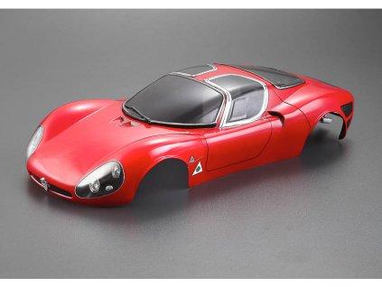 Killerbody karosérie 1:10 Alfa Romeo Stradale červená
