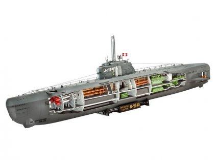 Revell Deutsches U-Boot Typ XXI (1:144)