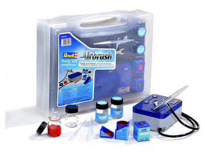 Revell - Airbrush basic set s compresorem