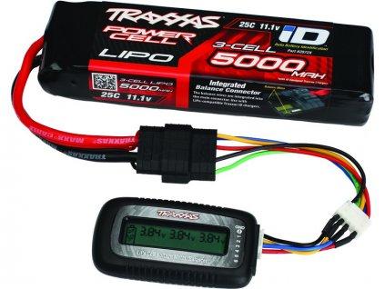 Traxxas tester LiPo akumulátorů