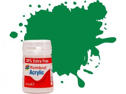Humbrol akrylová barva #2 smaragdová lesklá 18ml