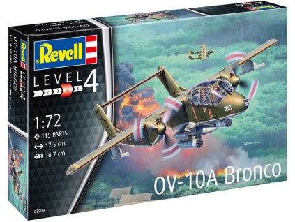 Revell North American Rockwell OV-10A Bronco (1:72)