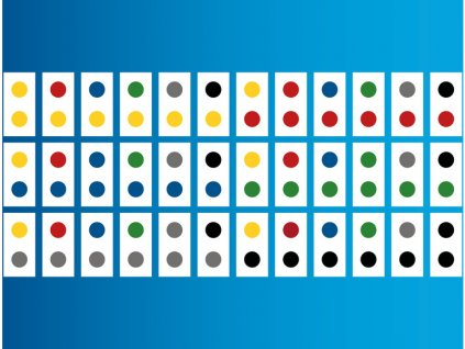 HUBELINO Duhové domino