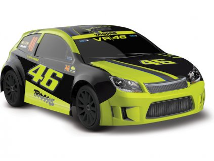 """TRAXXAS RALLY """"Valentiono Rossi"""" 4WD RTR 1:18"""