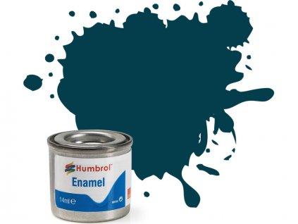 Humbrol emailová barva #230 PRU modrá matná 14ml