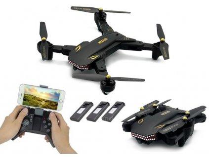 "VISUO DRONIO 2 ""Battle Shark"" FLY MORE WIFI FPV RTF"