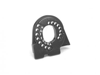 Traxxas lože motoru hliníkové šedé: TRX-4