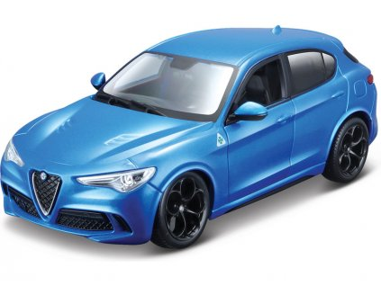 Bburago Alfa Romeo Stelvio 1:24 modrá