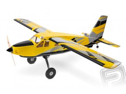 """LEGACY AVIATION 84"""" Turbo Bushmaster - žlutá/černá 2,13m"""