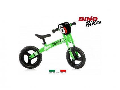 DINO Bikes - Dětské odrážedlo zelené