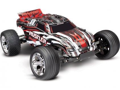 TRAXXAS RUSTLER 2WD RTR 1:10  (bez baterie a nabíječky)