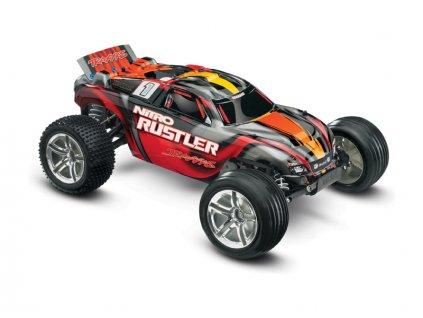 TRAXXAS NITRO RUSTLER 2WD RTR 1:10