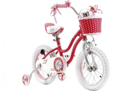 """RoyalBaby - Dětské kolo 12"""" Star Girl růžové"""