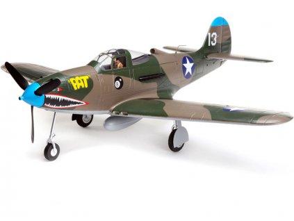 E-FLITE P-39 AIRCOBRA 1.2m SAFE SELECT BNF BASIC