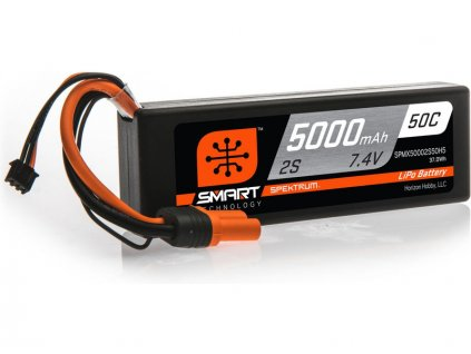 SPEKTRUM SMART CAR LIPOL 5000mAh 50C 7.4V