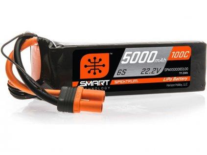 SPEKTRUM SMART LIPOL 5000mAh 100C 22.2V