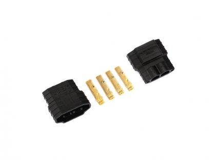 Traxxas konektor zlacený iD samec (2)