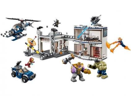LEGO Marvel Avengers - Bitva o základnu Avengerů
