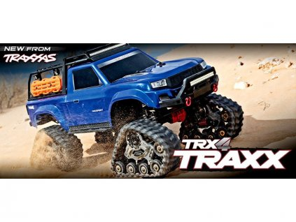 Traxxas pásový podvozek Traxx - kompletní
