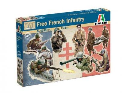Italeri figurky WWII - Free French Infantry (1:72)