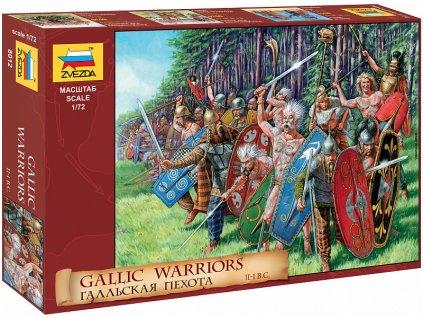 Zvezda figurky - Galští válečníci (1:72)