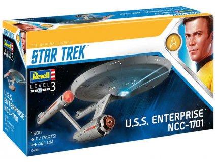 Revell Star Trek 04991 - U.S.S. Enterprise NCC-1701 (TOS) (1:600)