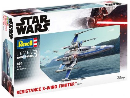 Revell SW 06744 - Resistance X-Wing Fighter (1:50)