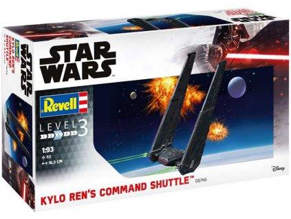 Revell SW 06746 - Kylo Ren's Command Shuttle (1:93)