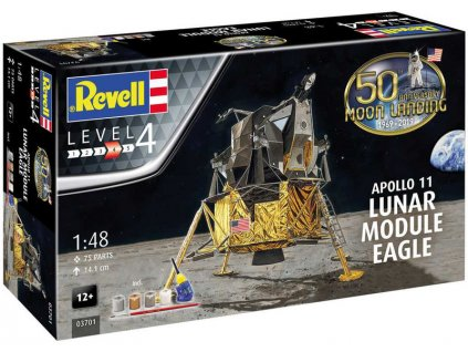 Revell Apollo 11 lunární modul Eagle (50. výročí) (1:48) (sada)