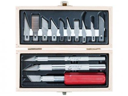Excel hobby sada 3 nože a 10 čepelí