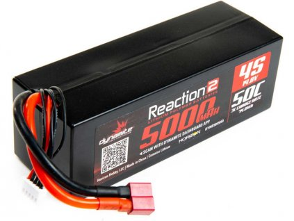 Dynamite LiPo Reaction2 14.8V 5000mAh 50C Deans