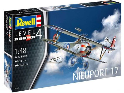 Revell Nieuport 17 (1:48) (set)