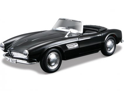 Bburago 1:32 Classic BMW 507 1957 černá