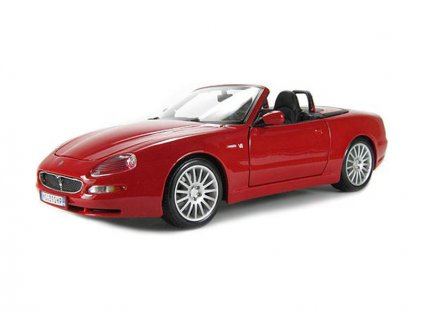 Bburago Maserati GT Spyder 1:18 červená