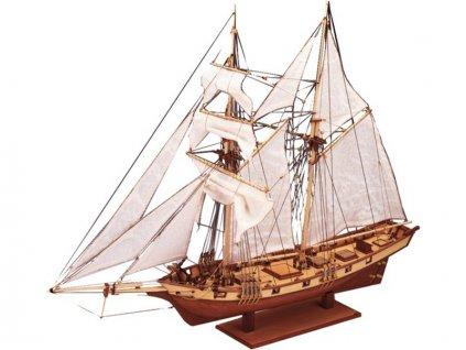 CONSTRUCTO Albatros škuner 1840 1:55 kit