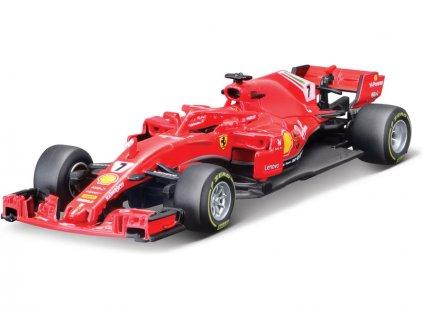 Bburago Ferrari SF71H 1:43 #7 Räkkönen