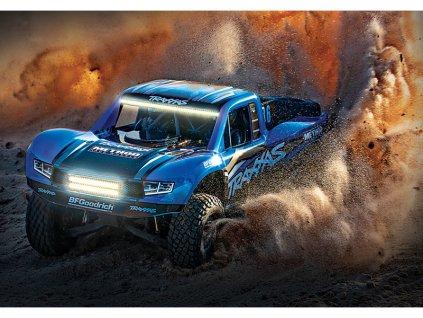 TRAXXAS UNLIMITED DESERT RACER 4WD RTR 1:8 + LED OSVďż˝TLENďż˝