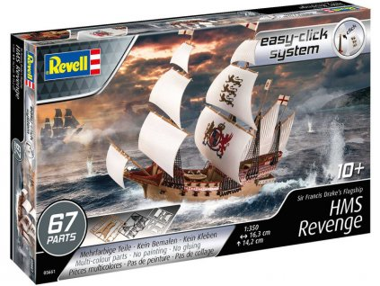 Revell EasyClick HMS Revenge (1:350) (sada)