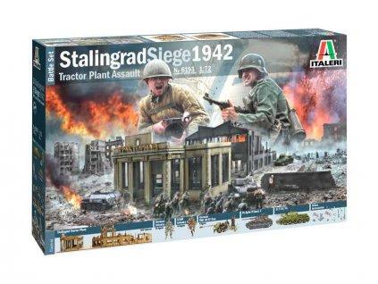 Italeri diorama obležení Stalingradu 1942 (1:72)