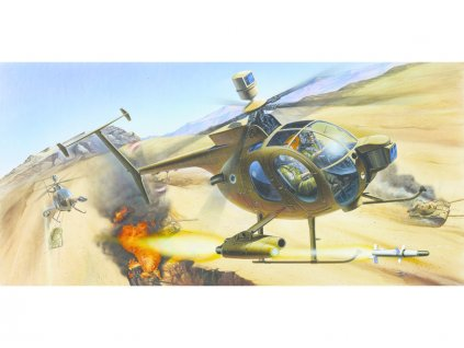Academy Hughes 500D Tow Helicopter (1:48)