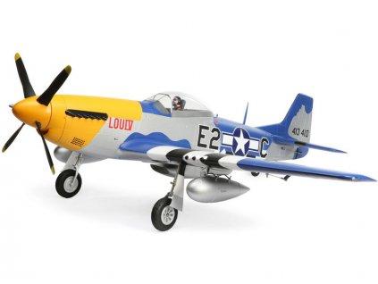 E-FLITE P-51D MUSTANG 1.5m BNF BASIC SMART  (skladem od 11.2.2020)