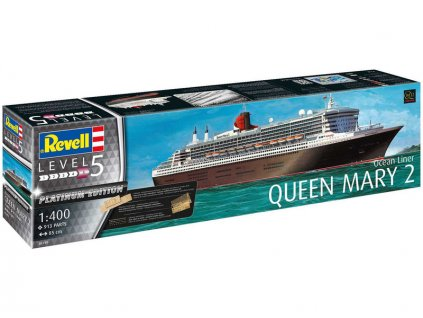 Revell Queen Mary 2 Platinum Edition (1:400)