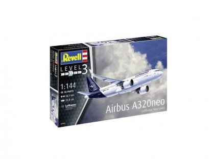 Revell Airbus A320 neo Lufthansa (1:144) (sada)