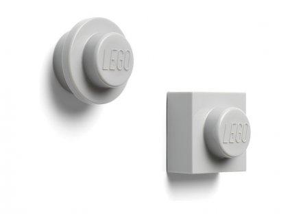 LEGO magnetky šedé (2)