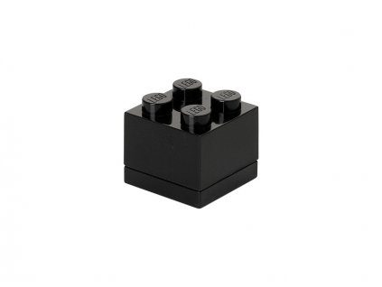 LEGO mini box 46x46x43mm - černý