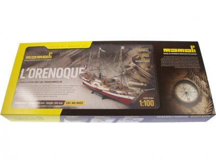 MAMOLI L'Orenoque 1848 1:100 kit