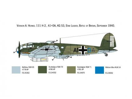 Italeri Heinkel He-111H (1:72)
