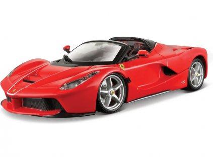 Bburago Signature Ferrari LaFerrari Aperta 1:43 červená